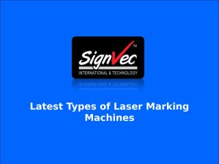 Laser Marking Equipments.ppt