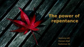 The Power of Repentance.pptx