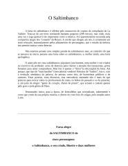 O SALTIMBANCO.doc