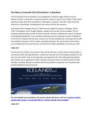The History of Icelandic Fish Oil Production - Icelandirect.docx