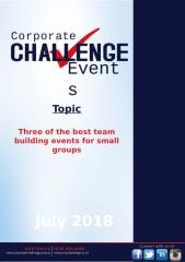 Three of the best team building events for small groups.pptx